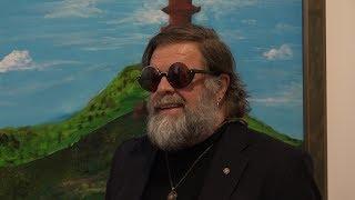 Борис Гребенщиков спел на открытии выставки в Минске