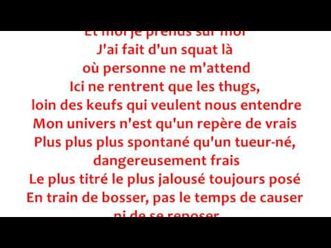 Rohff - La Grande Classe Paroles