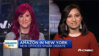 "Lisa Eadicicco, senior tech correspondent for Business Insider, and Axios reporter Erica Pandey joins ""Squawk Box"" to discuss the top tech stories of the day ..."