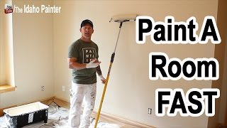 10 Steps Painting A Room FAST and EASY