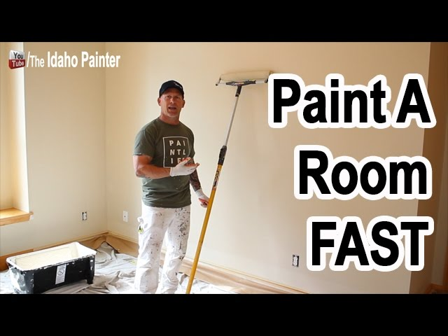 10 Steps Painting A Room Fast And Easy Youtube
