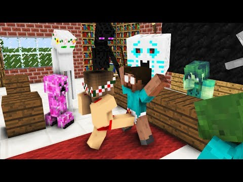 Monster School: LOVE - Minecraft Animation