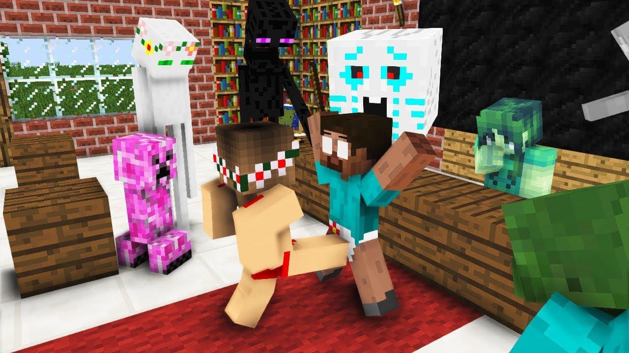 Monster School: LOVE - Minecraft Animation