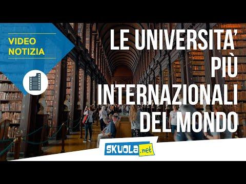Università: scopri quali sono gli atenei più internazionali
