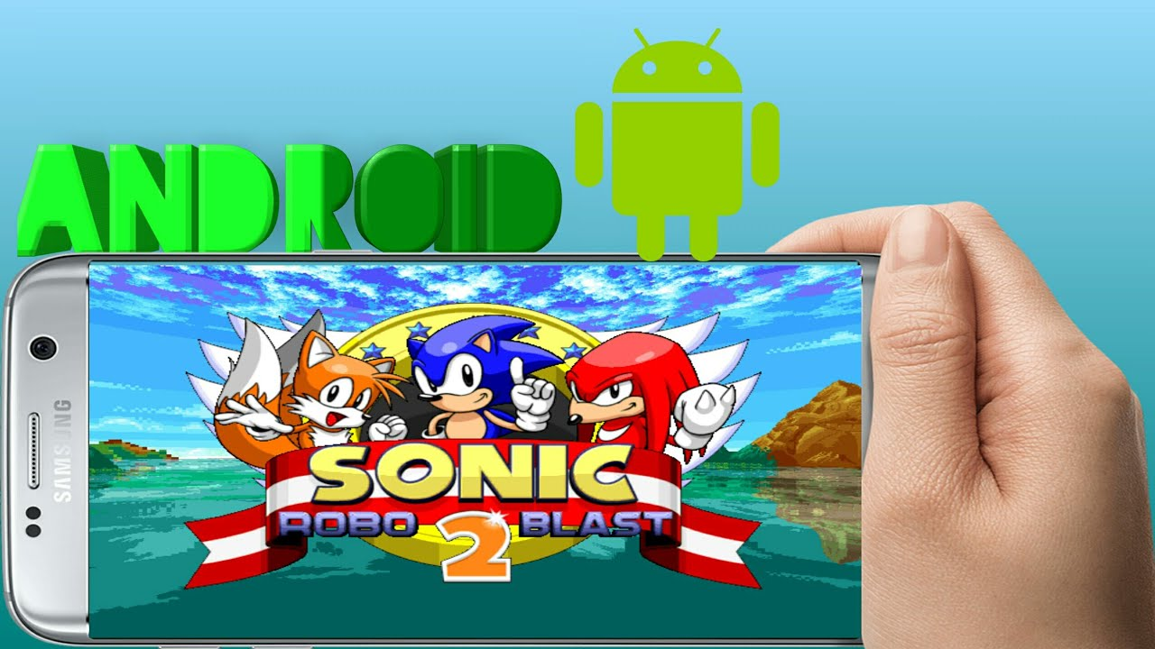SONIC ROBO BLAST 2 PARA ANDROID(GAMEPLAY+DOWNLOAD+TUTORIAL
