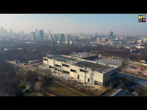 Budowa Muzeum Historii Polski na Cytadeli Warszawskiej (Marzec 2021)