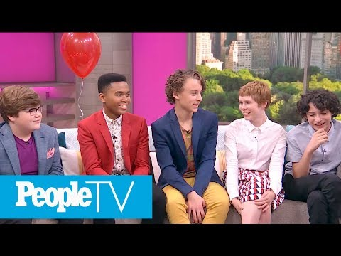 'IT' Cast Reveals Casting Secrets, OnSet Stories, Talks 'Stranger Things' & More  PeopleTV
