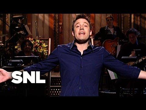 Ben Affleck Monologue: Relationship T-Shirts - Saturday Night Live