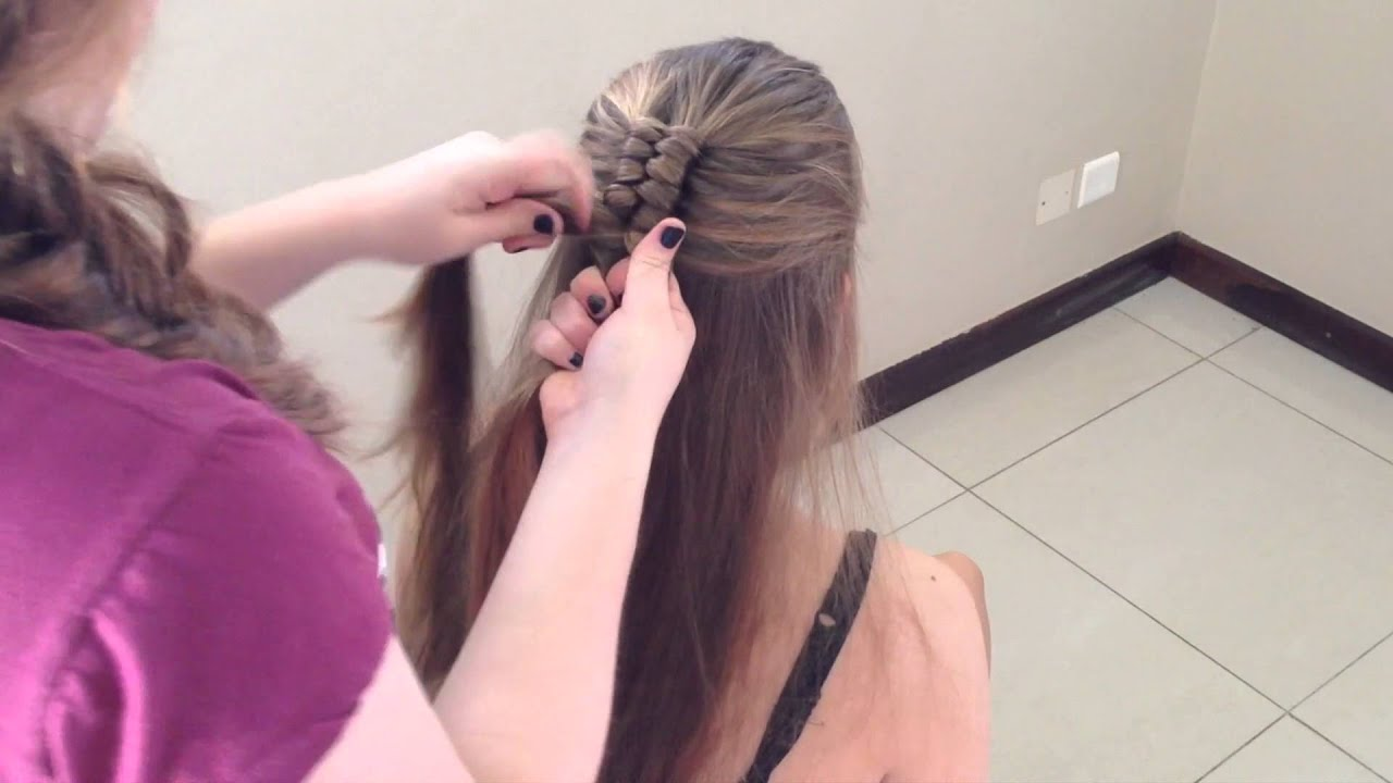 dutch infinity braid - youtube