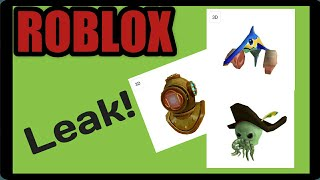 Roblox Atlantis Conformed Prizes | Roblox Leaked