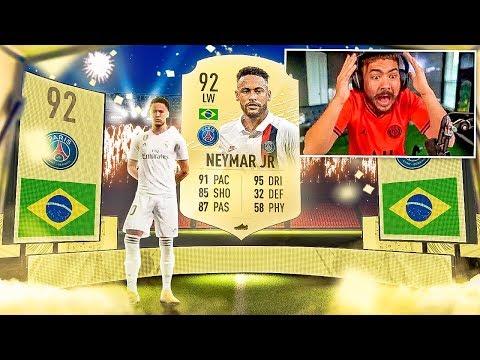 OMG I PACKED 92 NEYMAR!! FIFA 20 PACKS!!