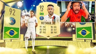 OMG I PACKED 92 NEYMAR!! FIFA 20 PACKS!!