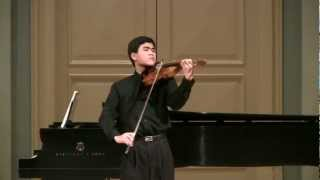 Bach - Sonata for Solo Violin No. 3: III. Largo and IV. Allegro assai