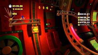 Sonic Lost World (Wii U): Tropical Coast - Zone 3 - Time Attack (2:31.21)