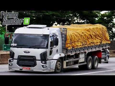 Caminhões do Farming Simulator 2018 - Scania, Volkswagen e Mercedes-Benz!?