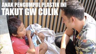 PEMULUNG GELAS PLASTIK...TAKUT GW CULIK