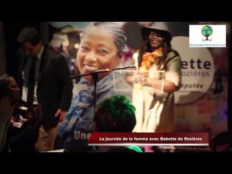 La journée de la femme avec Babette de Rozières, candidate aux élections législatives de 2017