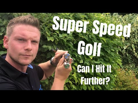 Super Speed Golf – The Answer To Longer Drives?