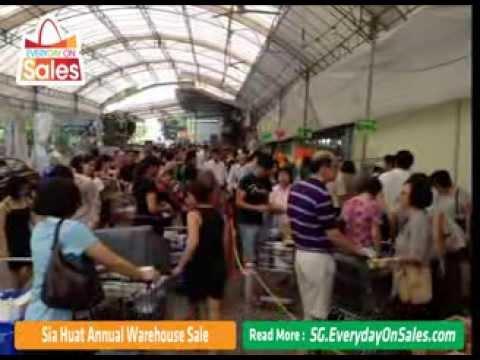 Sia Huat Homewares Warehouse Sale in Singapore