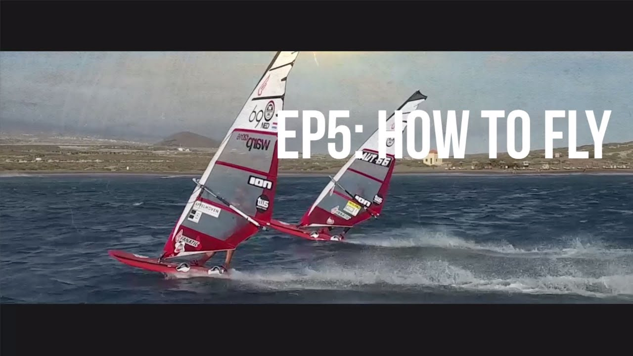 TWS Technique Series - Episode 5: How to Fly? Flying speed tips windsurfing  slalom