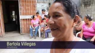 Samanes 7 recibió ayuda de la Fundación Cruzada Nueva Humanidad