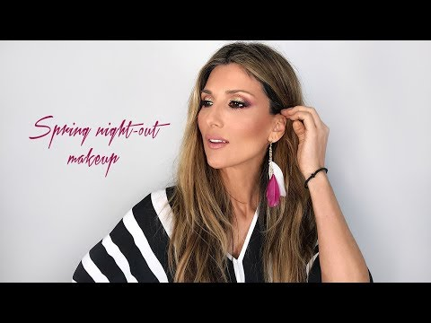 Spring night out makeup | Roula Stamatopoulou thumbnail