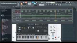 Making a Chief Keef/Soulja Boy Type Beat - FL Studio Tutorial - Episode 1