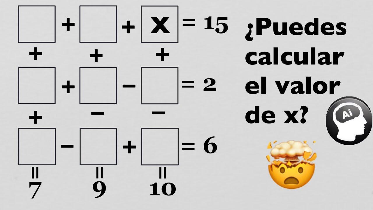 ¿Puedes resolver el siguiente reto matemático viral