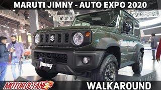 Maruti Jimny - WOW! Gypsy ka naya roop |Auto Expo 2020 | Hindi | MotorOctane