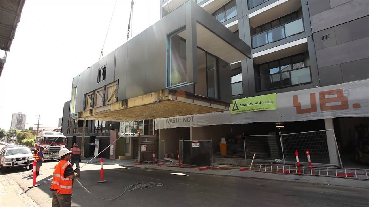 7 storey apartment building in 11 days - YouTube