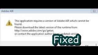 League Of Legends Adobe Air Error [Fix]
