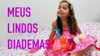 Lindos Diademas Para Meninas - Sarah de Araújo