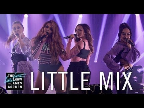 Little Mix - Touch (Live at The Late Late Show With James Corden 2017) HD