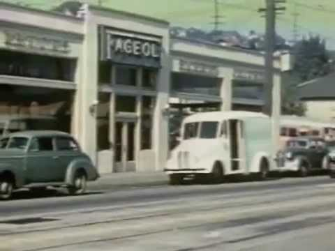 Rails To Rubber: 1940 Seattle Streetcar and Trolley Bus Film