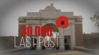 30,000th Last Post ceremony on 9 July 2015 in Ypres, Flanders Fields