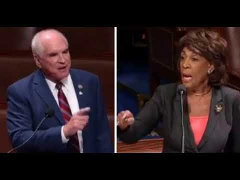 Maxine Waters Suffers Screaming Meltdown After PA Rep Mike Kelly Says 3 Words