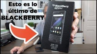 Blackberry me mandó su última creación el BlackBerry Key 2 LE Review