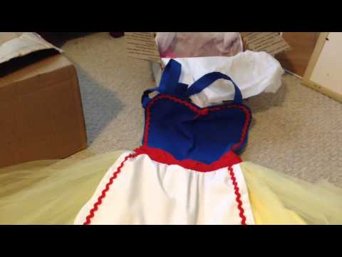 *Opening* Disney Princess Halloween Costumes from Etsy