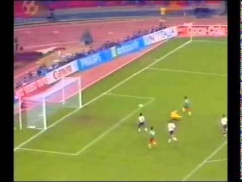 Italy 1990 - Quarter Finals - Cameroon 2 - 3 England