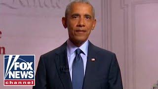 Did Obama's DNC speech overshadow Kamala Harris? 'The Five' weighs in