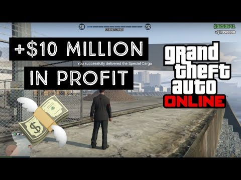 GTA Online | Making $10,148,000 from CEO Crate and Bunker Sales (Solo)