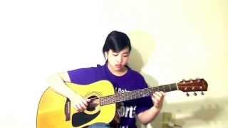 Hình Bóng Quê Nhà (Cover: Virginia Nguyen - Bé Mẫn) Guitar Solo