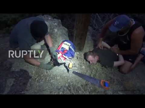 Russia: FSB detains Ukrainian agent trying to cut power lines in Crimea