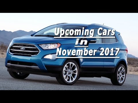 Upcoming Cars In india 2017 November l With price