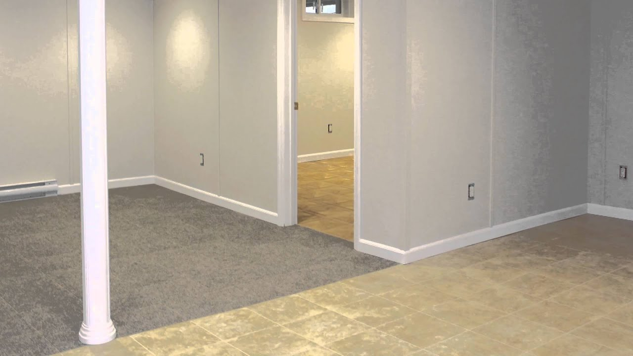 Basement Finishing | Waterproof Wall u0026 Flooring Products | Ask the Expert | Leader Basement Systems - YouTube & Basement Finishing | Waterproof Wall u0026 Flooring Products | Ask the Expert | Leader Basement Systems