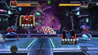 HOW TO SWITCH EASILY  NIGHTCRAWLER EVADE MODE marvel contest of champion