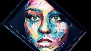 Portrait Painting on your Face-Make up Tutorial( Inspired by Francoise Nielly`s Artwork)
