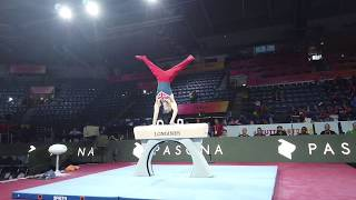 Gymnastics Worlds 2019 Team GBR Podium Training