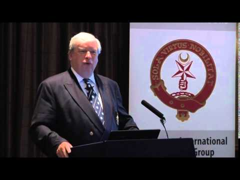 John Noble: Handling the media