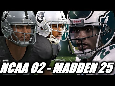 Nnamdi Asomugha Through The Years  NCAA Football 02  Madden 25